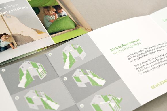 Corporate Design - Bewegungsspielraum - Corporate Design - Möbel - Modulsystem