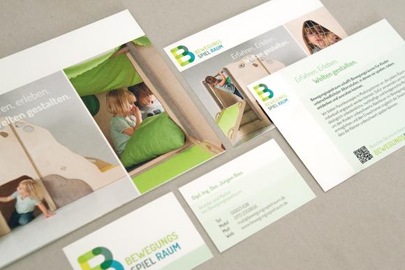 Corporate Design - Möbel - Modulsystem - Kindergarten - Broschüre