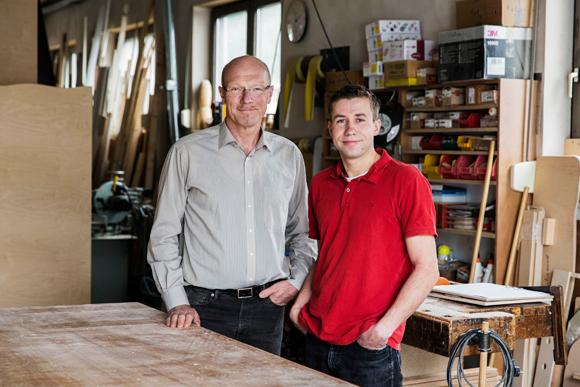 Corporate Design - Bewegungsspielraum - Möbel - Porträt Jürgen Ries