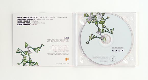 Jazz - FC Fritsche - Design - Album - Illustration - Folkwang Universität