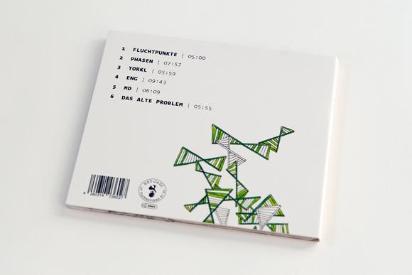 Jazz- FC Fritsche - Design - Album - Rückseite