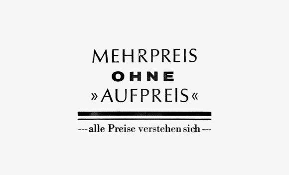 Aufpreis - Formfleischvorderschinken - Poesie - Handsatz