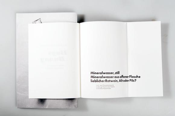Editorial Design - Fadenheftung - ausgeklappt - Formfleischvorderschinken