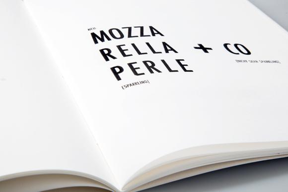 Editorial Design - Detail - Fadenheftung - Formfleischvorderschinken