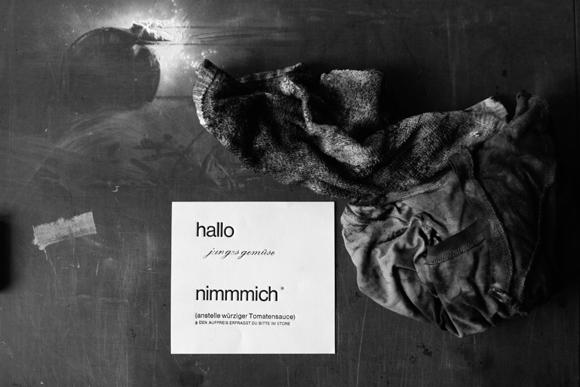 Werkstatt - Formfleischvorderschinken - Poesie - Handsatz