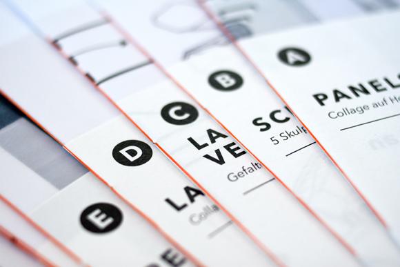 Fadenheftung - Buchbinden - Editorial Design - Kunst - Ausstellungskatalog - a2