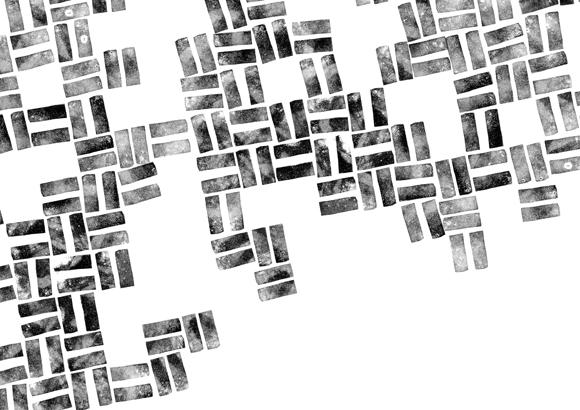 Kreativquartier Essen - Corporate Design - Stempel - Muster