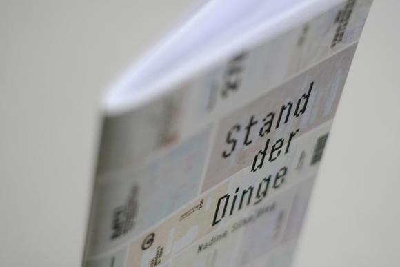 Editorial Design - konkrete Poesie - Kunst - Quittungsbelege - Lastschrift - Design - Titel
