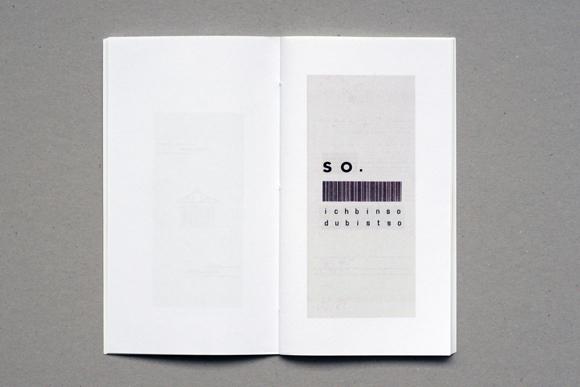 Editorial Design - konkrete Poesie - Kunst - Quittungsbelege - Lastschrift - Design - ich bin so