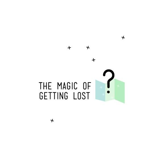 The Magic of Getting Lost - App - Logo - Gestaltung - Best Design - Start-up Weekend