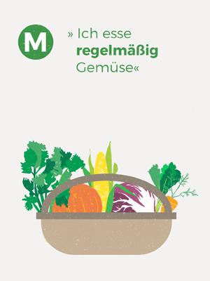 Wir Garten Lüneburg Illustration Gemüsekorb