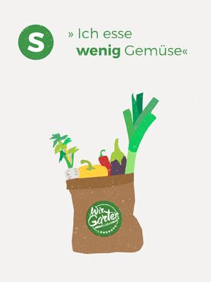 Wir Garten Lüneburg Gemüsetüte Illustration