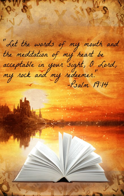 Psalm 19.14 Quote