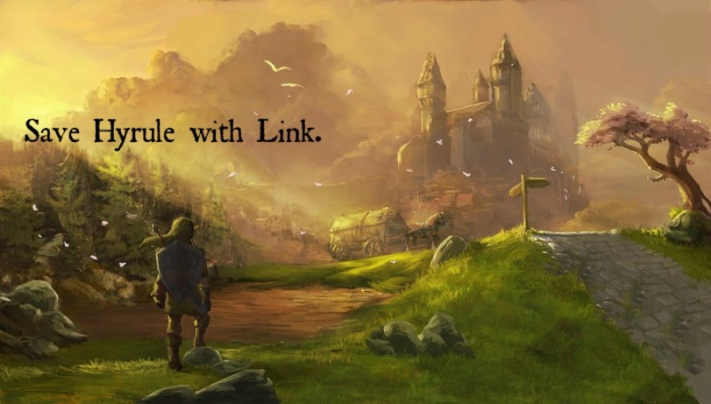 Save Hyrule with Link (pic)