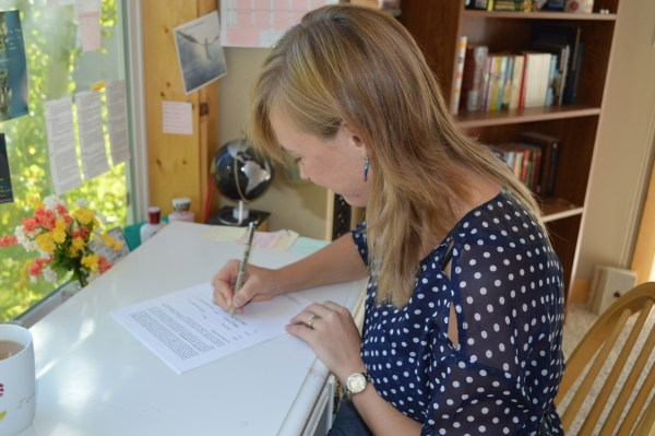 Nadine signs with literary agent