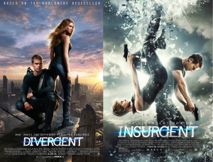 divergent and insurgent movie poster