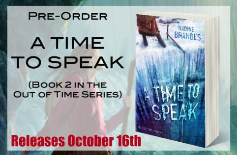 A Time to Speak, Pre-Order Page for Website