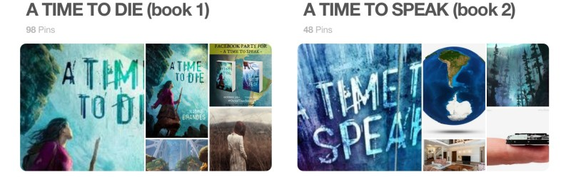 A Time to Die Pinterest Board