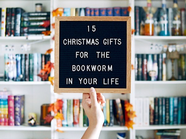 15 Christmas Gifts for the Bookworm in Your Life - Nadine Brandes
