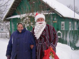 Ded Maroz und Snegurotschka in Slabada