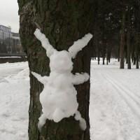Februar im Gorkipark