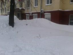 Vom Schnee verweht