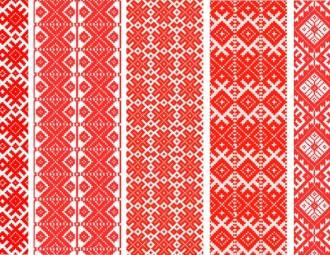 Belarussische Ornamente- Nationalbewusstsein oder Trend?