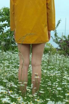 Grandmas yellow Raincoat