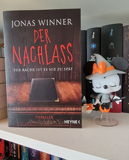 """""""Der Nachlass - Für Rache ist es nie zu spät"""" von Jonas Winner"""