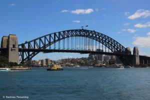 Sicht auf die Harbour Bridge