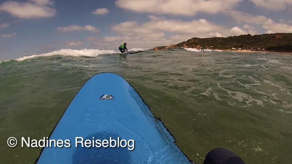 Erste Erfolge beim surfen