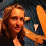 Nadine im Surfmuseum