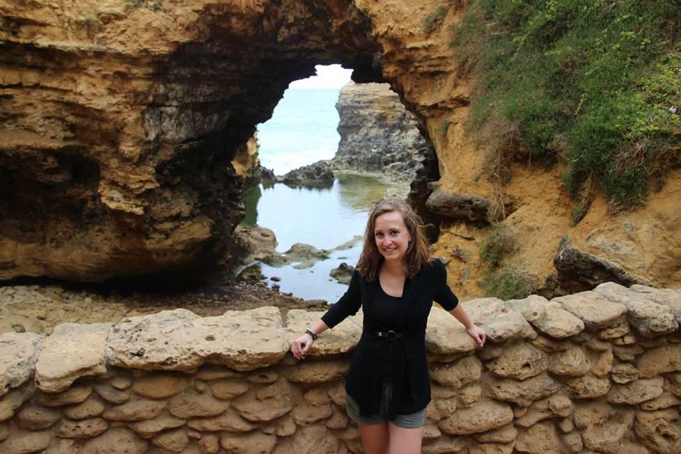 Nadine in Australien