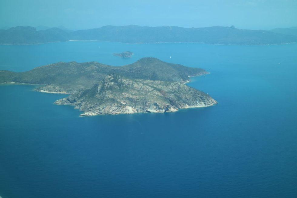Unbewohnte Insel