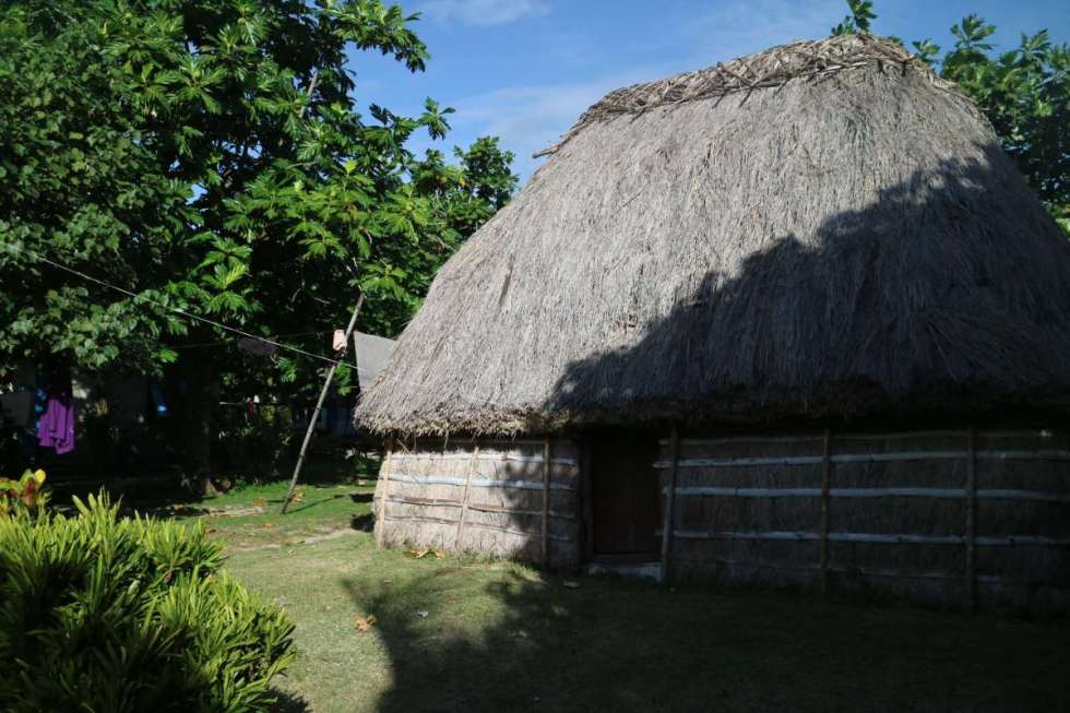 typical house at the nacula village