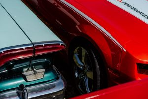abstract of two cars by Nadine Wilmanns