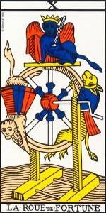 La Rueda de la Fortuna en el tarot: busca ser como la esfinge #sersiendo