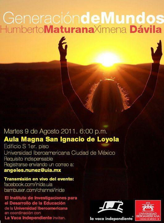 Maturana en México: mañana