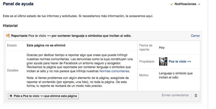 Machismo en #Facebook #sersiendo