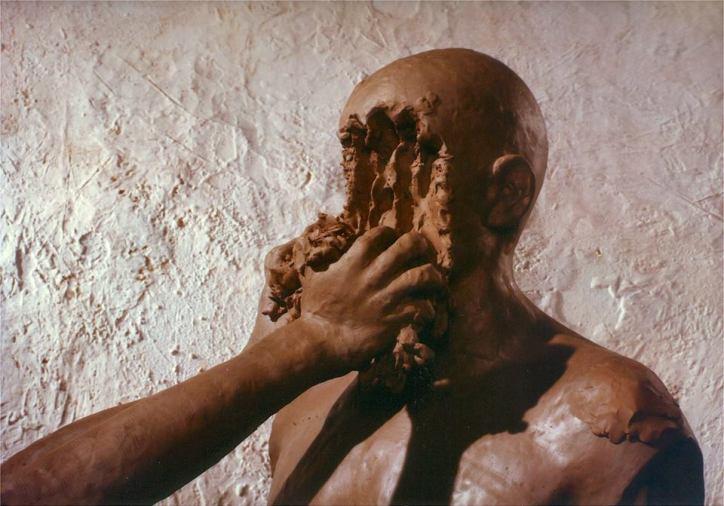 "Fotograma del cortometraje ""Dimensions of dialogue"" de Jan Švankmajer."