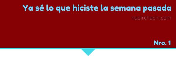 Nueva sección: «Ojos para ver» #sersiendo