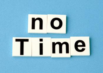 no tiene tiempo