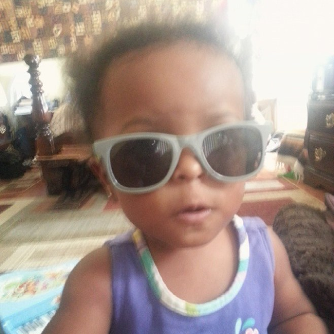 My future's so bright...#mayaomowale #omowondertwins