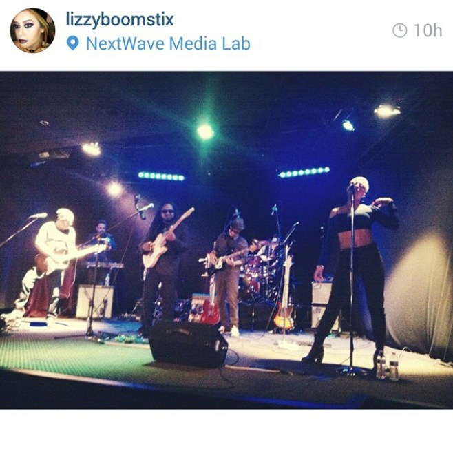 Regram from @lizzyboomstix The FUNK was THICK last night! #Nadir'sElectricLounge