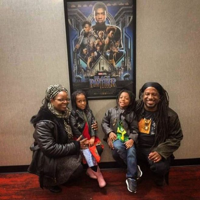 The Omowale Tribe at Black Panther.