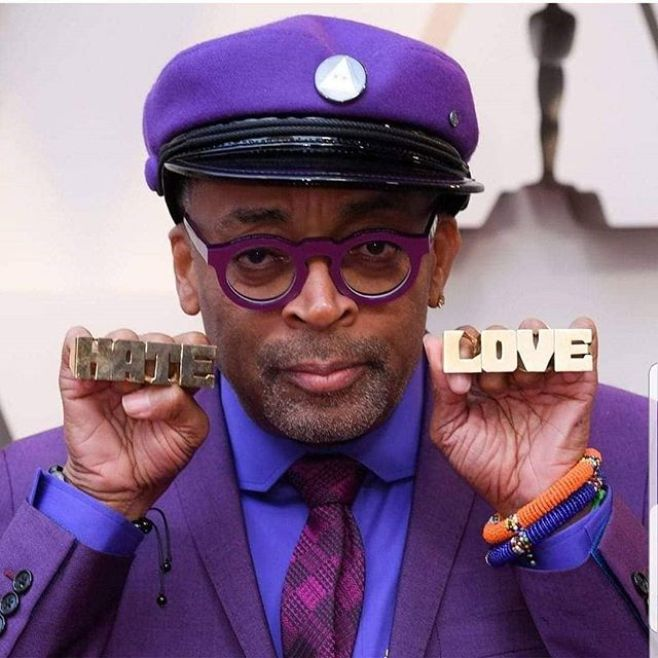 And the Oscar FINALLY goes to @officialspikelee. It only took them 30 years to #DoTheRightThing