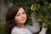 Teen girl outdoor portrait