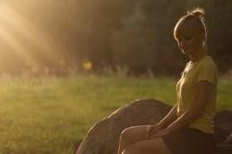 Woman portrait outdoors