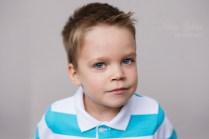 Портрет пятилетнего мальчика.