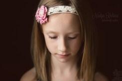 Портрет девочки. Ресницы.